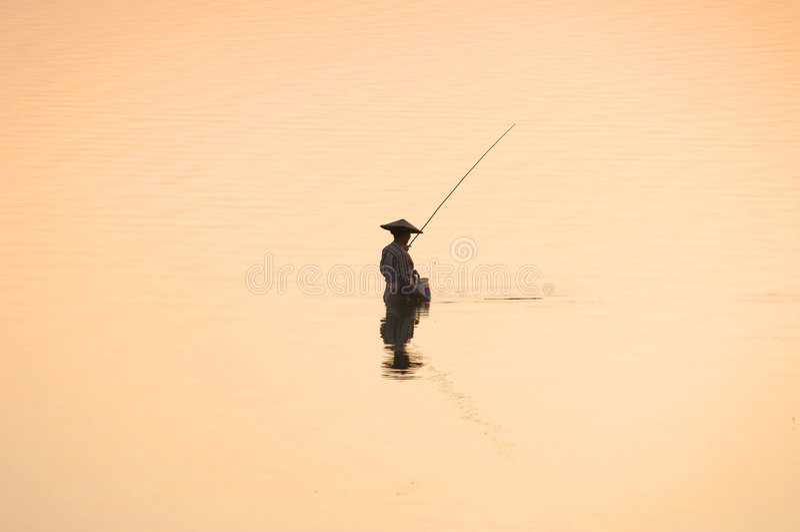 Myanmar, Amarapura, ponticello di U Bein immagini stock