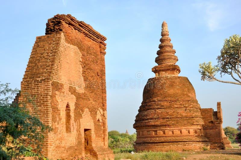 myanmar bagan świątynia zdjęcie stock