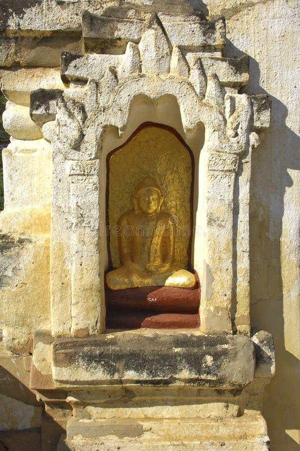 Download Myanmar, Bagan: Statue In A Pagoda Stock Photo - Image: 4927632