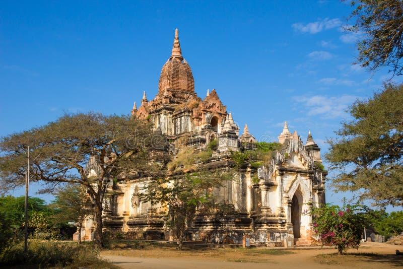 Myanmar bagan tamples light birma. Travel royalty free stock images