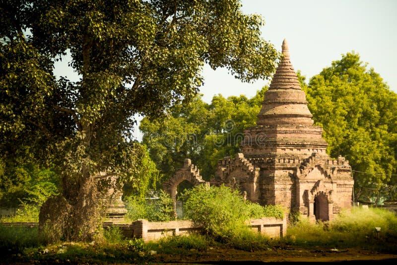 Myanmar bagan tamples light birma. Travel stock photos