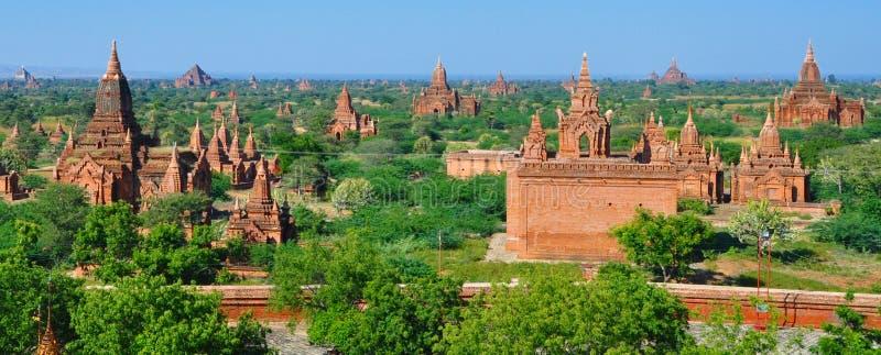 Download Myanmar: Bagan temples stock photo. Image of serene, myanmar - 17627528
