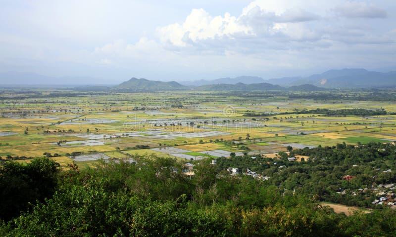 Myanmar (Birma) Landschap stock afbeelding