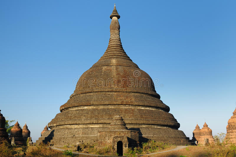 Myanmar (Birmania), templo de Mrauk U imagenes de archivo
