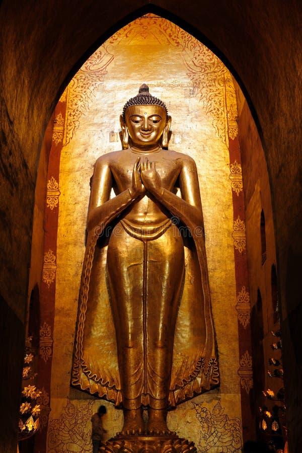 Myanmar (Birmanie), Ananda Pahto Temple dans Bagan images libres de droits