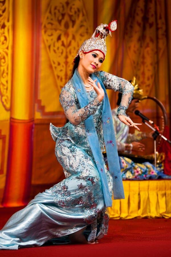 Myanmar dans stock afbeelding