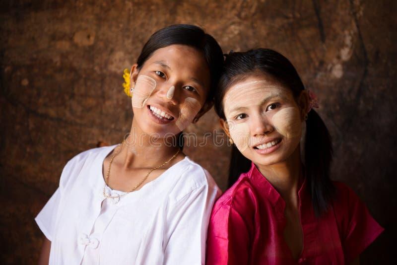 Myanmar Girls Smiling Stock Photo Image Of Female -4657