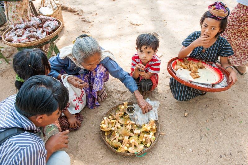 Myanmar groenten stock afbeelding