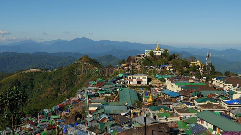 Myanmar 2018 arkivfoton