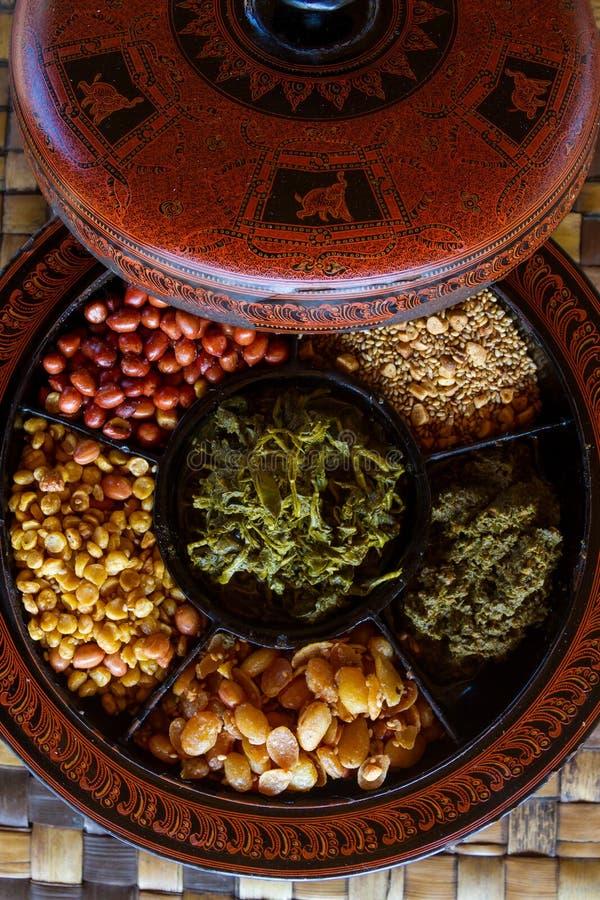 Myanmar-Lebensmittel stockbilder