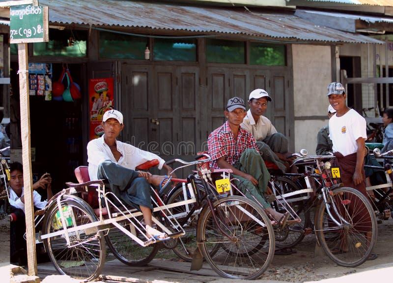 Myanmar-Leute lizenzfreie stockfotos