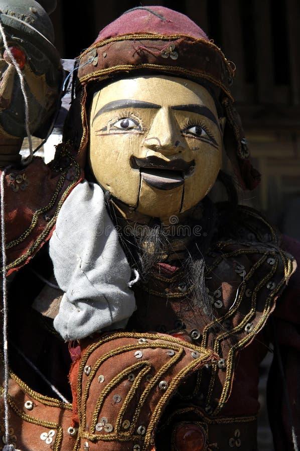 Myanmar, Mandalay: Artesanato, marionette fotos de stock