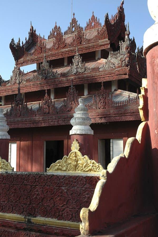 Myanmar, Mandalay: Pagoda imágenes de archivo libres de regalías