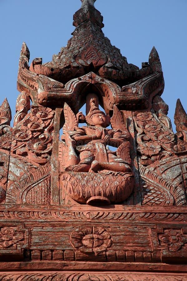 Myanmar, Mandalay: Pagoda foto de stock