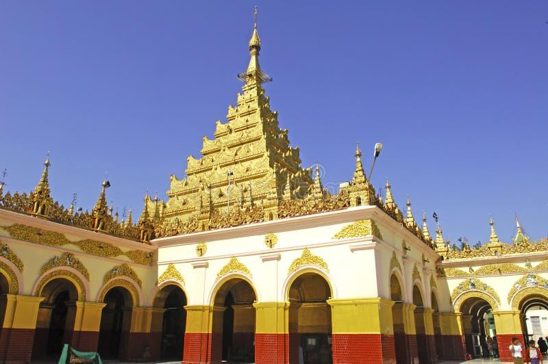 Myanmar, Mandalay: Pagoda de Mahamuni imagem de stock royalty free
