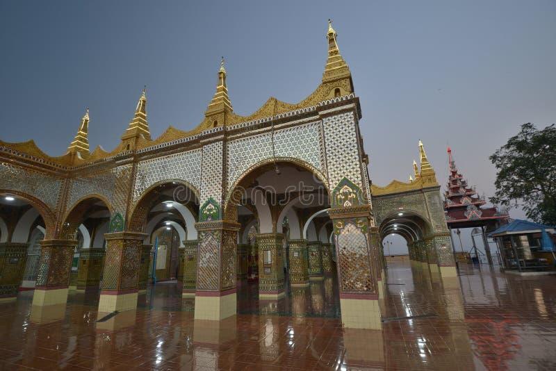 Mandalay Sutaungpye Pagoda royalty free stock image