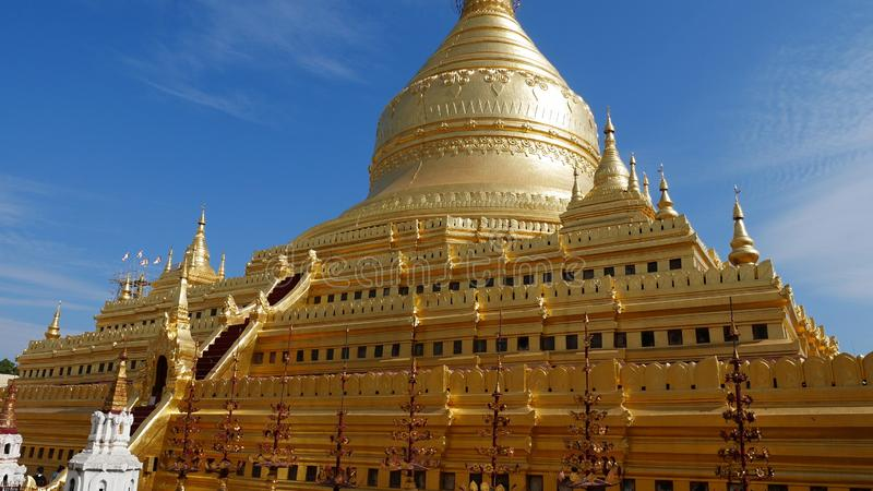 Myanmar 2018 arkivbild