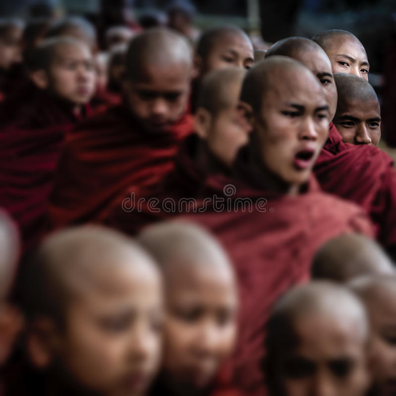 Myanmar. Pindaya - The cave festival stock images
