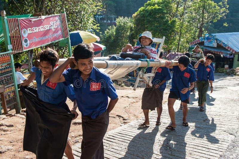 Myanmar-Reise stockfotos
