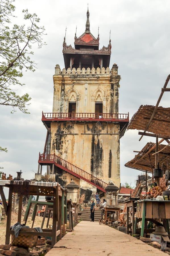 Myanmar-Reise lizenzfreies stockfoto