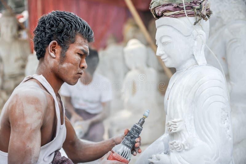 Myanmar snider royaltyfria bilder