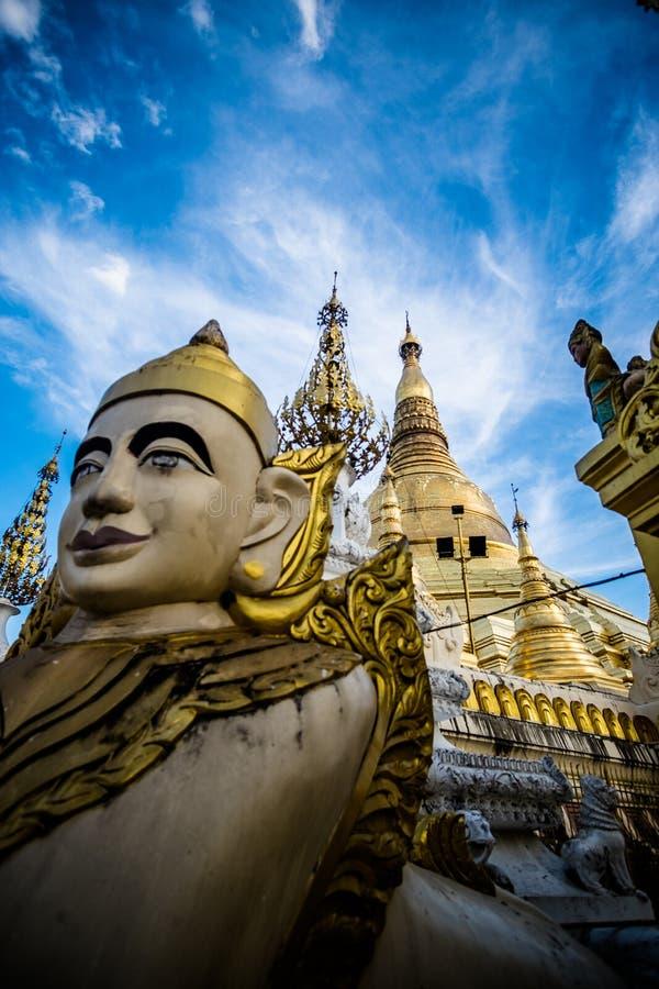 Myanmar Statue stock photos