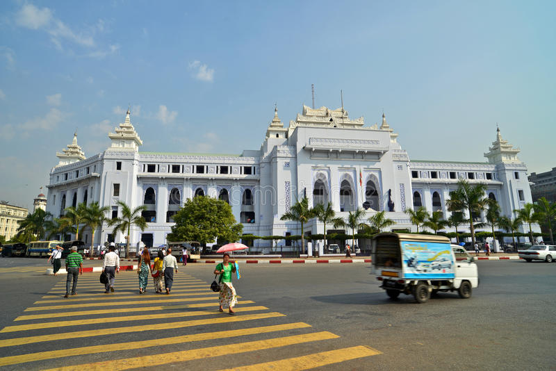 myanmar Yangon obrazy royalty free