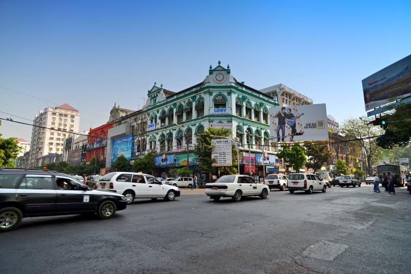 myanmar Yangon obrazy stock