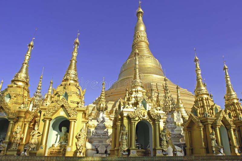 Myanmar, Yangon: Pagoda de Shwedagon imagens de stock