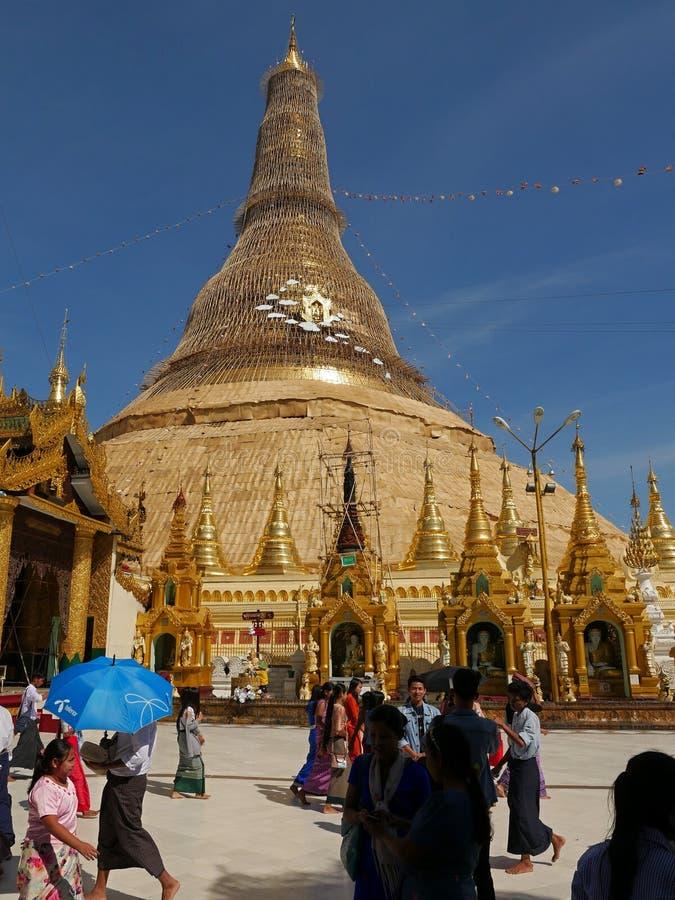 Myanmar 2018 royaltyfri fotografi