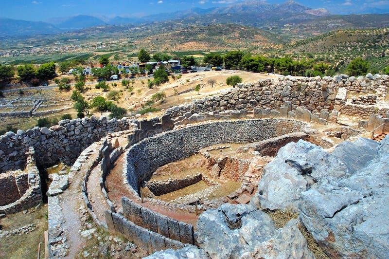 Mycenae photo libre de droits