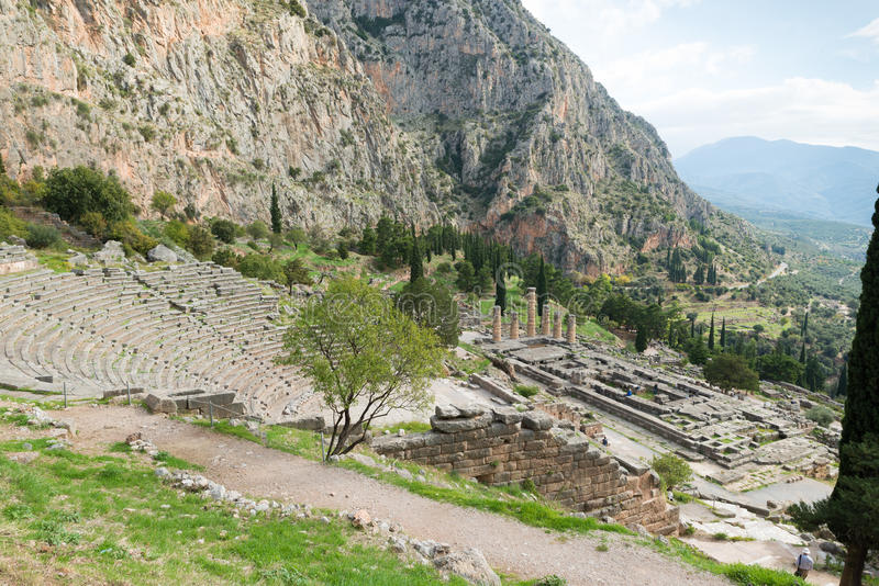 Mycenae royalty free stock photos