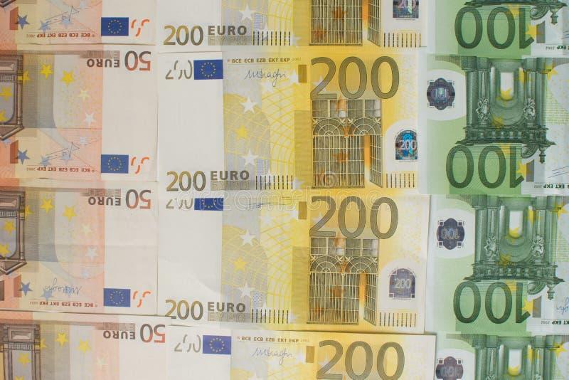 Mycket av kontanta euro arkivbilder