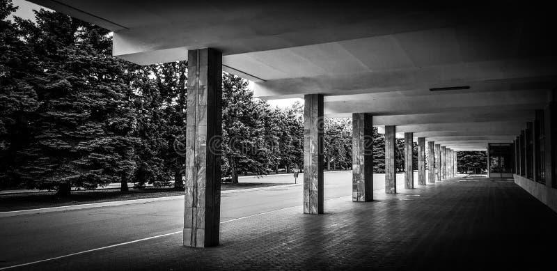 Mycket intressant svartvitt foto med rytm arkivfoton