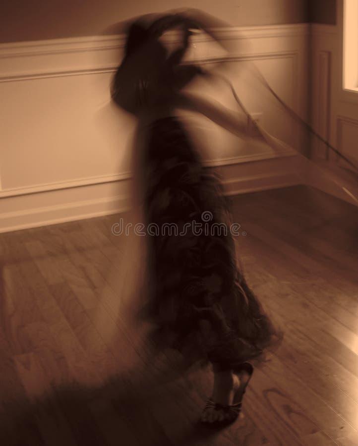 mycket liten dansare royaltyfria bilder