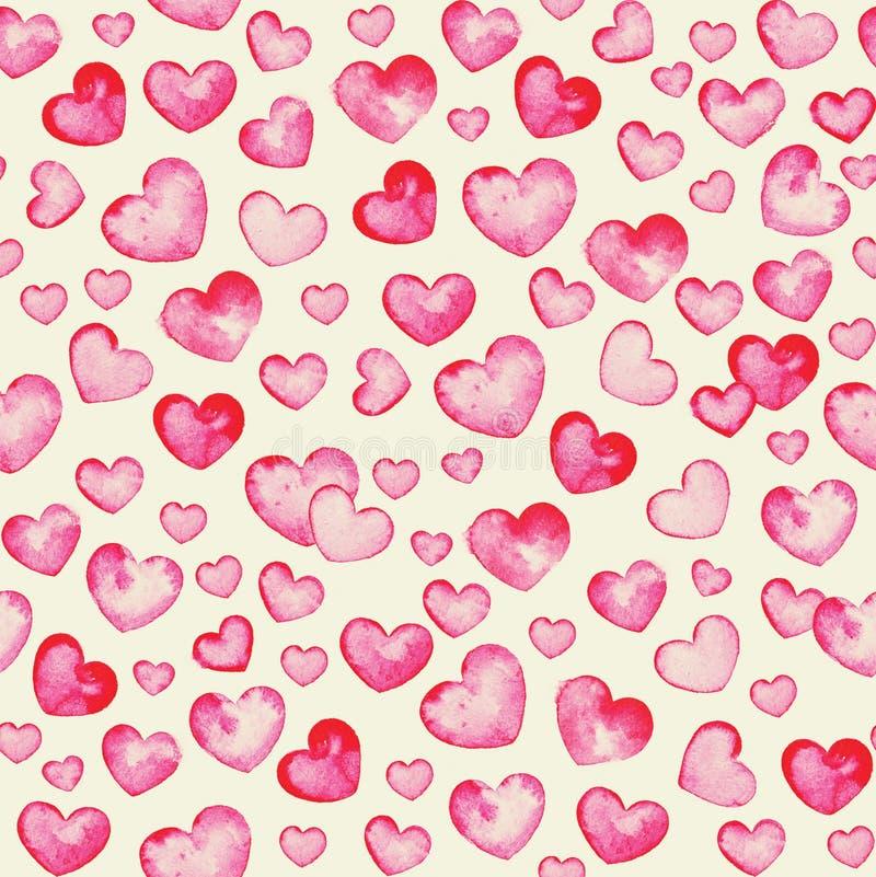 mycket små hjärtor arkivfoton
