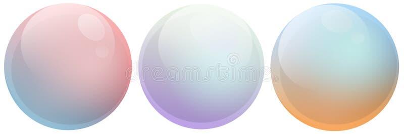 Mydlanych bąbli Wielo- kolor zdjęcia stock