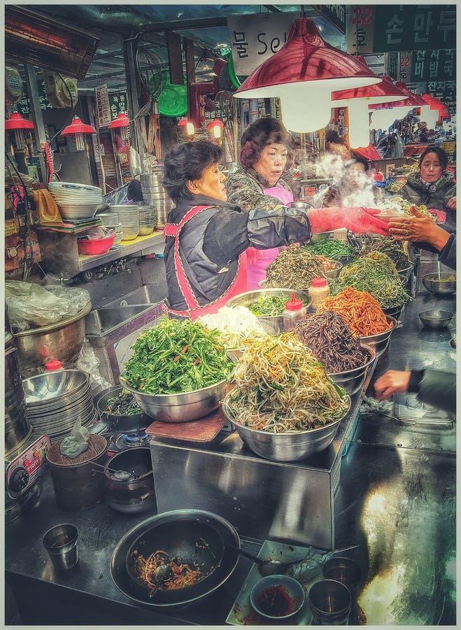 Myeong Dong Market lizenzfreie stockbilder