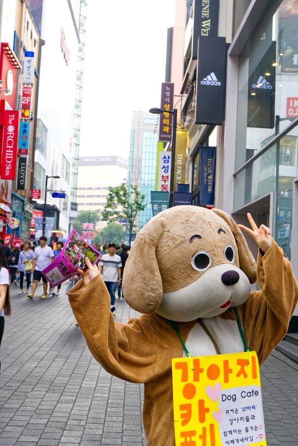 MYEONGDONG, SEOUL, SOUTH KOREA stock photo