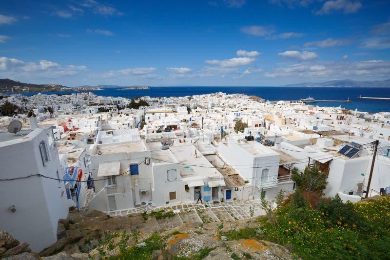 Mykonos海岛 免版税图库摄影