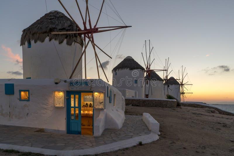 Mykonos photo libre de droits