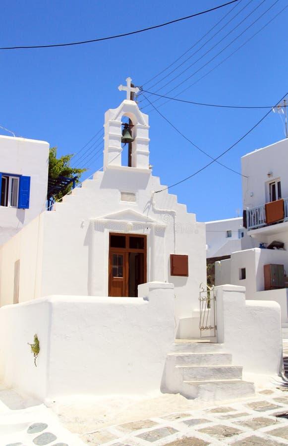 Mykonos Chapel stock photos