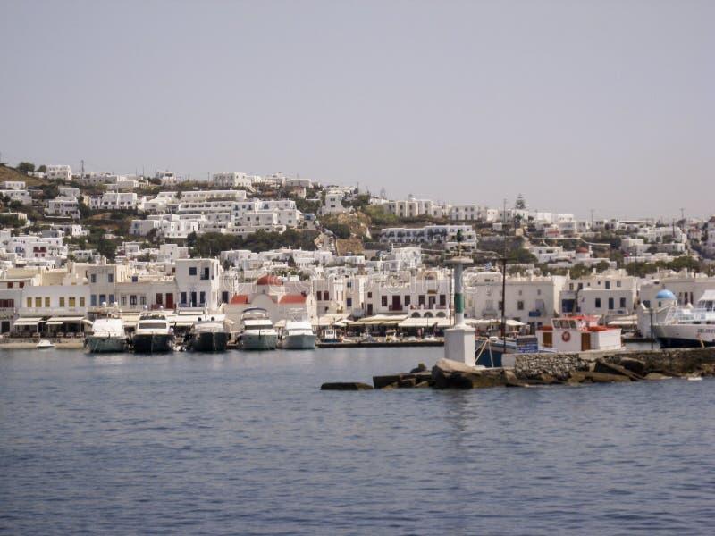 Mykonos Greek Islands stock images