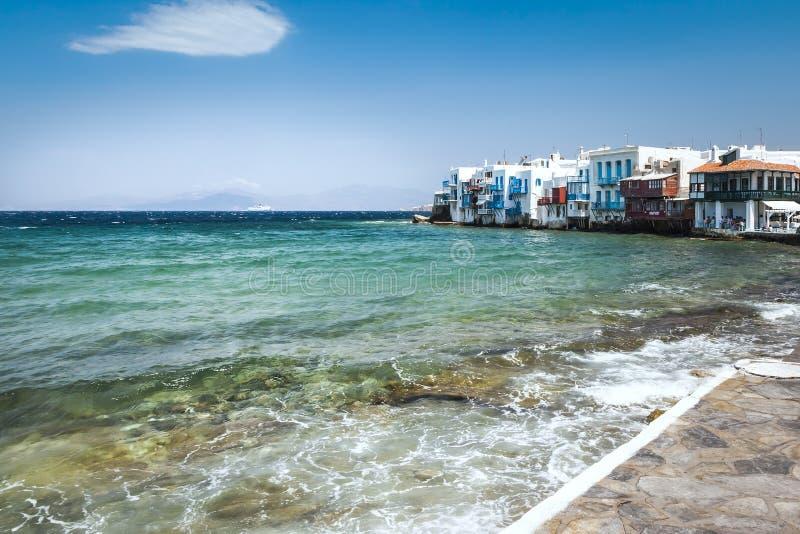 Mykonos Griechenland lizenzfreie stockfotos