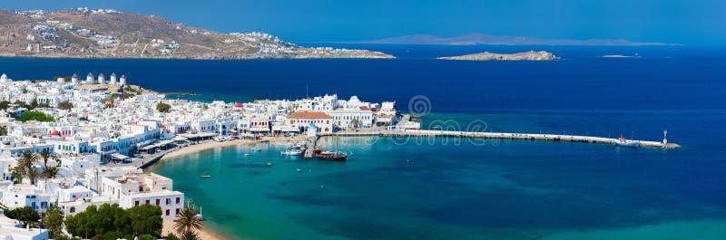 Mykonos Insel stockbild