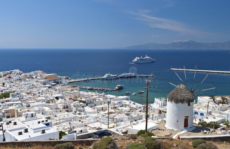 Mykonos Island In Greece Royalty Free Stock Photos
