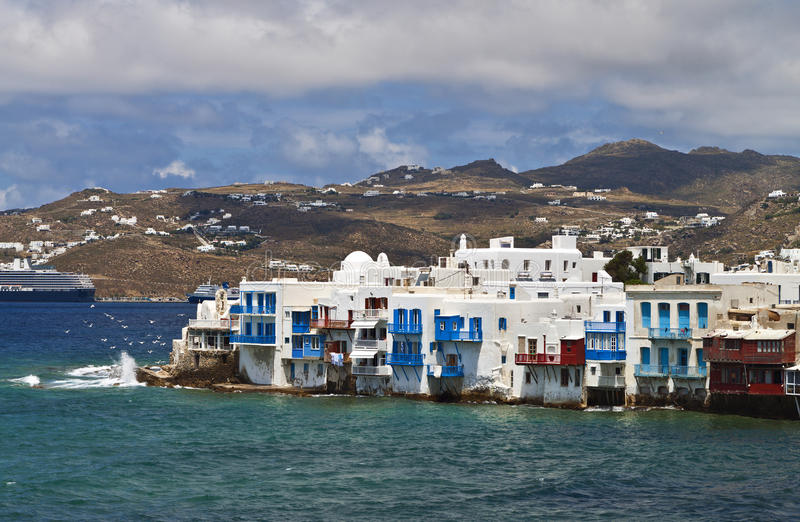 Download Mykonos Island In Greece Royalty Free Stock Photography - Image: 31277777