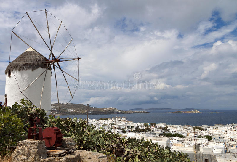 Download Mykonos Island In Greece Royalty Free Stock Images - Image: 31277689