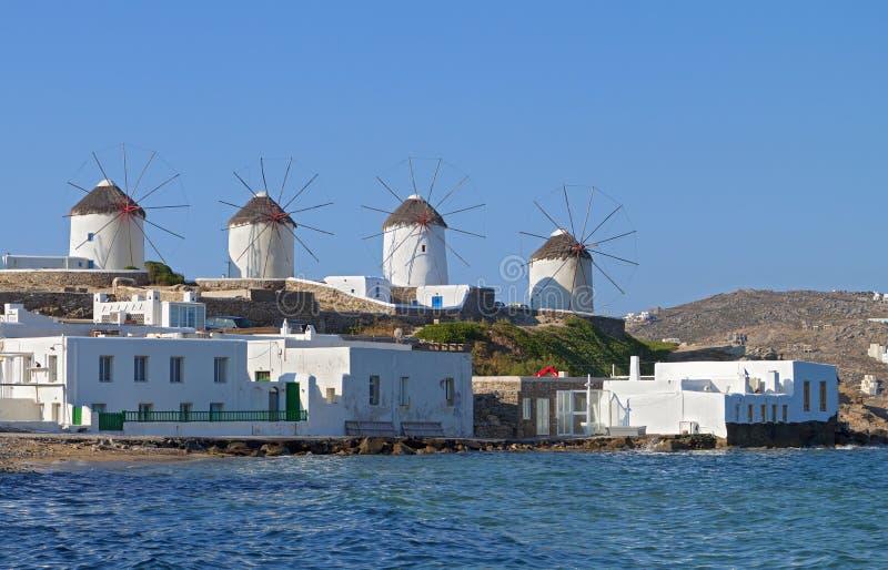 Mykonos island in Greece royalty free stock image