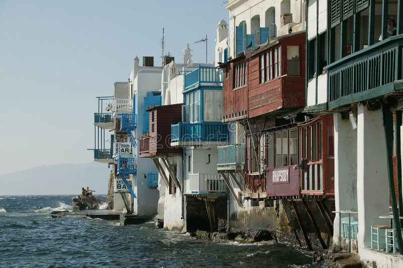 Mykonos Small Venice stock images